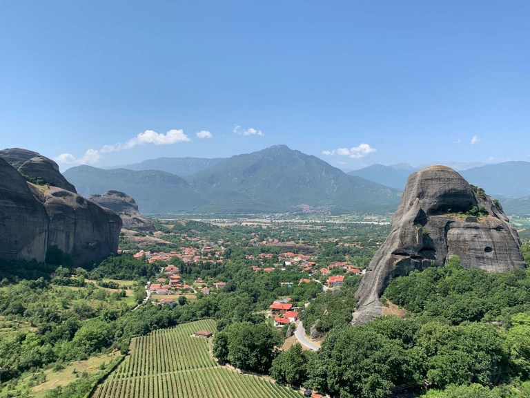 Beautiful Holy Meteora - Kalabaka