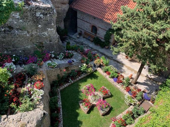 Rousannou Monastery gardens Meteora_RiA Vistas