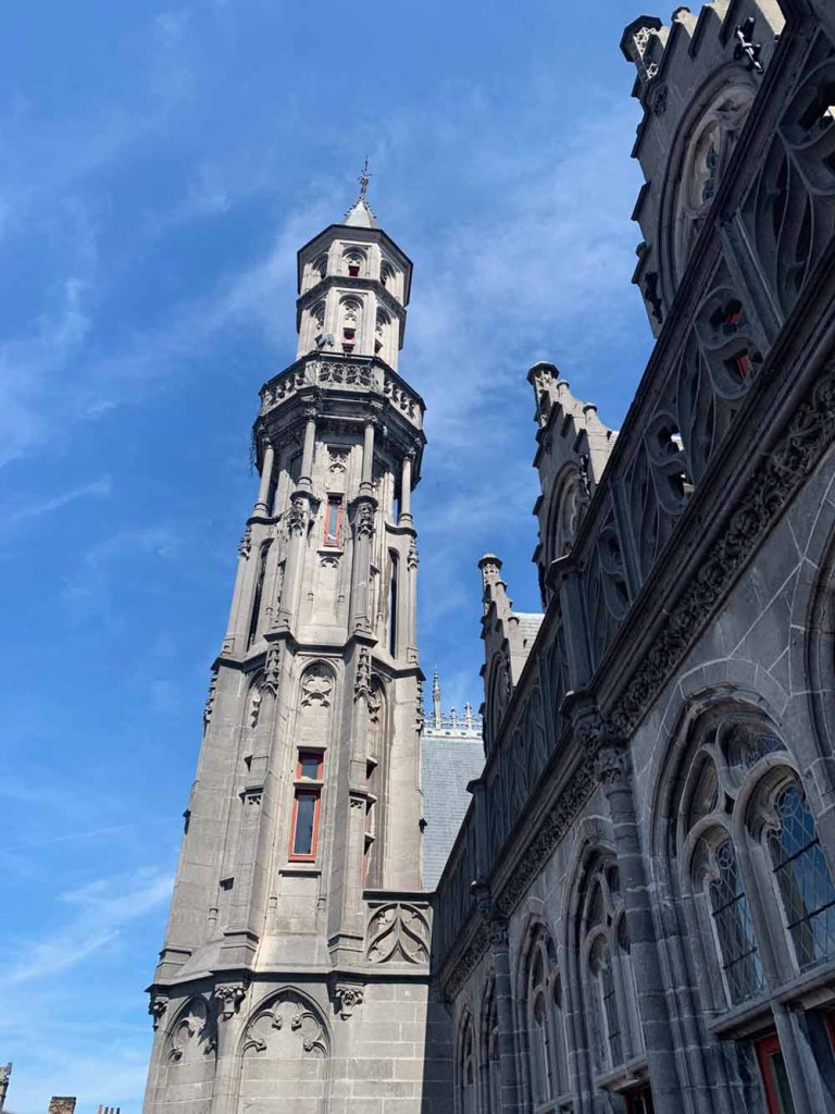 Tall and proud Historium - Bruges