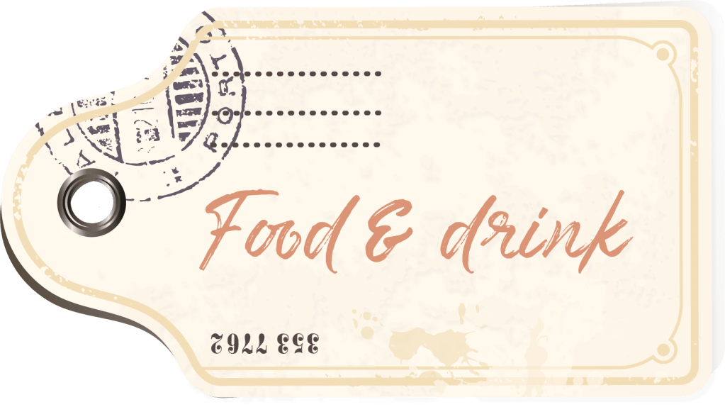 Food & drink tag