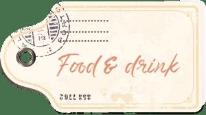 Food & drink tag