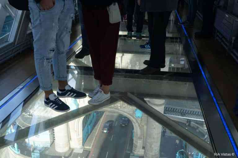 Glass Floor at Tower Bridge