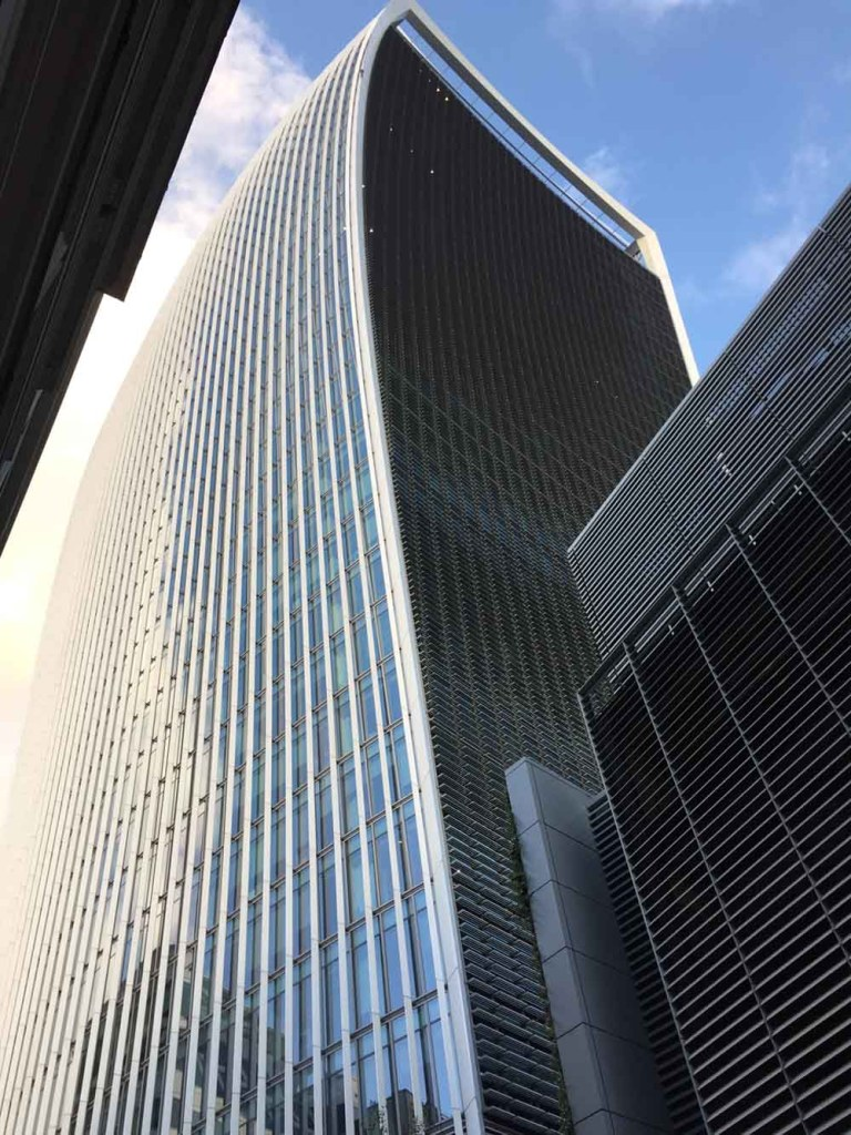 Walkie Talkie building - London