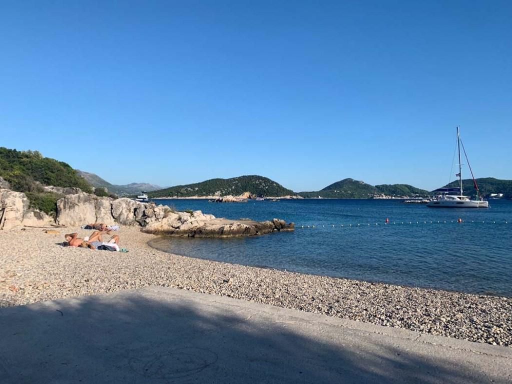 Beach at Šipan