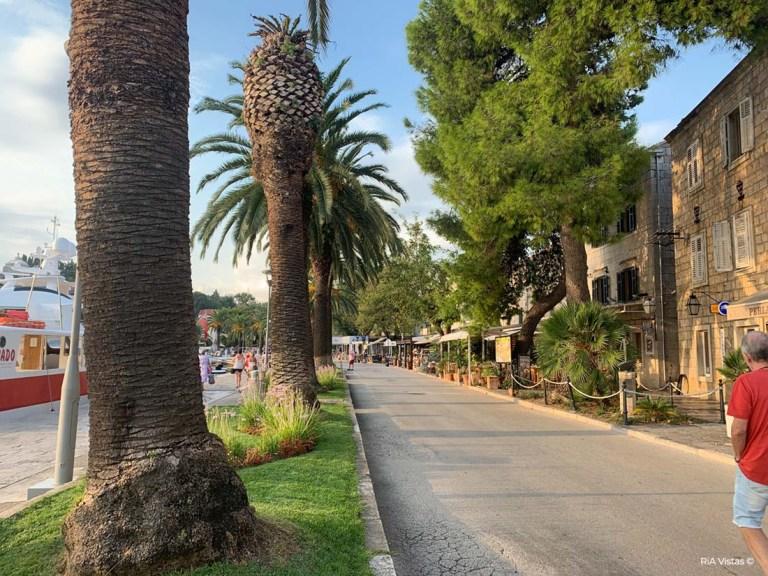 Cavtat Town strip - Dubrovnik