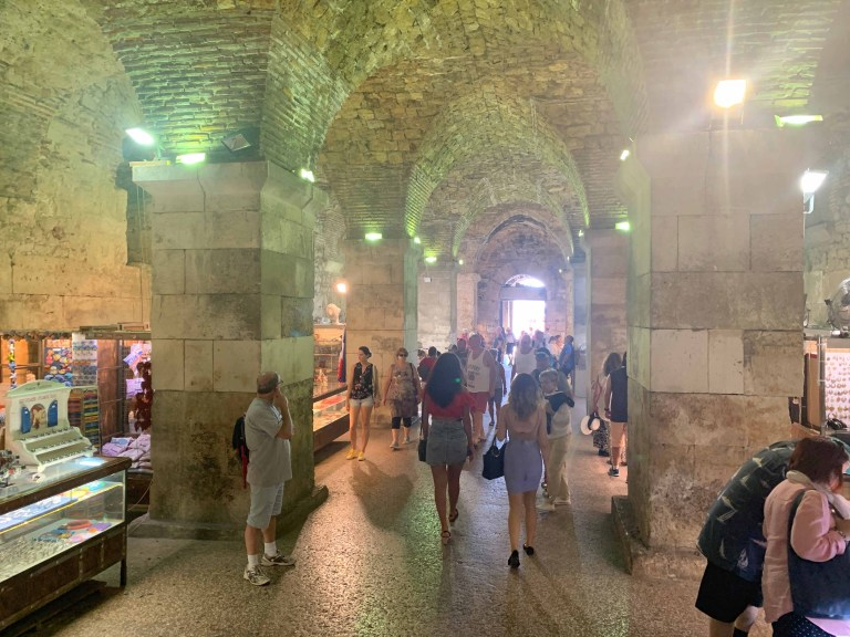 The underground market at Diocletian palace - Split_RiA Vistas