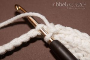 einfache Handstulpen häkeln Häkelanleitung