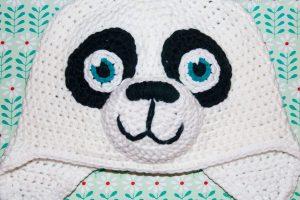 Panda Mütze häkeln Paddy Häkelanleitung