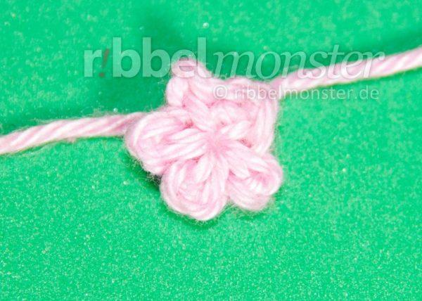 Blumen Häkeln Winzigste Blüte Häkeln Premium Kostenlose