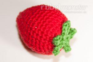 Amigurumi große Erdbeere häkeln Anleitung