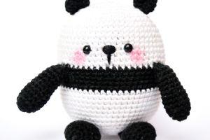 Amigurumi - größten Panda häkeln - Mao - Häkelanleitung - Anleitung