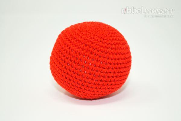 Amigurumi - einfachen größeren Ball häkeln - kostenlose Häkelanleitung - gratis Anleitung