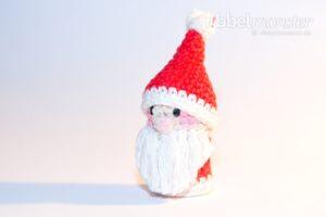 Amigurumi - Weihnachtsmann Fingerpuppe häkeln - gratis Häkelanleitung