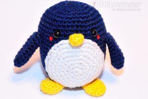Amigurumi - mittleren Pinguin häkeln - Chubby - Anleitung - Häkelanleitung kostenlos
