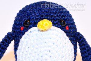 Amigurumi - mittleren Pinguin häkeln - Chubby - Häkelanleitung für Anfänger