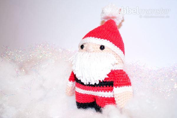 Amigurumi Weihnachtsmann Häkeln Premium Kostenlose Anleitungen