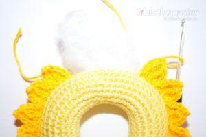 Baby Greifling häkeln - Sonnenschein - Häkelanleitung