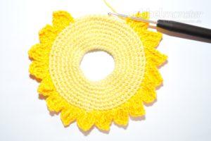 Baby Greifling häkeln - Sonnenschein - kostenlose Häkelanleitung