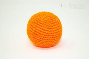 Amigurumi - einfachen großen Ball häkeln - kostenlose Häkelanleitung - gratis Anleitung
