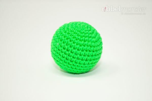 Amigurumi - einfachen kleinen Ball häkeln - kostenlose Häkelanleitung - gratis Anleitung