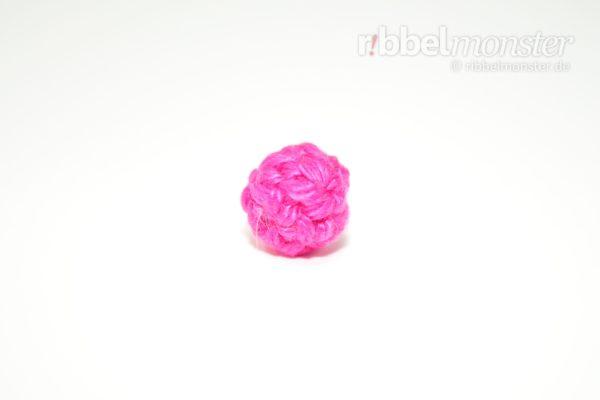 Amigurumi - einfachen winzigsten Ball häkeln - kostenlose Häkelanleitung - gratis Anleitung
