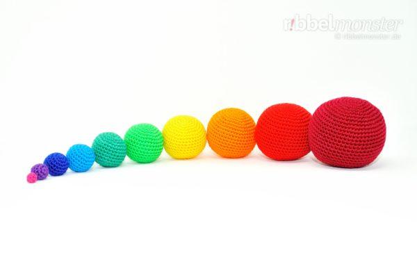 Amigurumi - einfache Bälle häkeln - gratis Anleitung