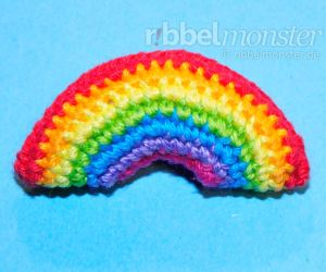Amigurumi - Crochet Tiny Rainbow - Tutorial - Crochet Pattern
