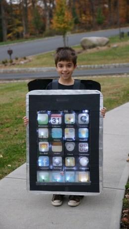iPhone Costume 2009