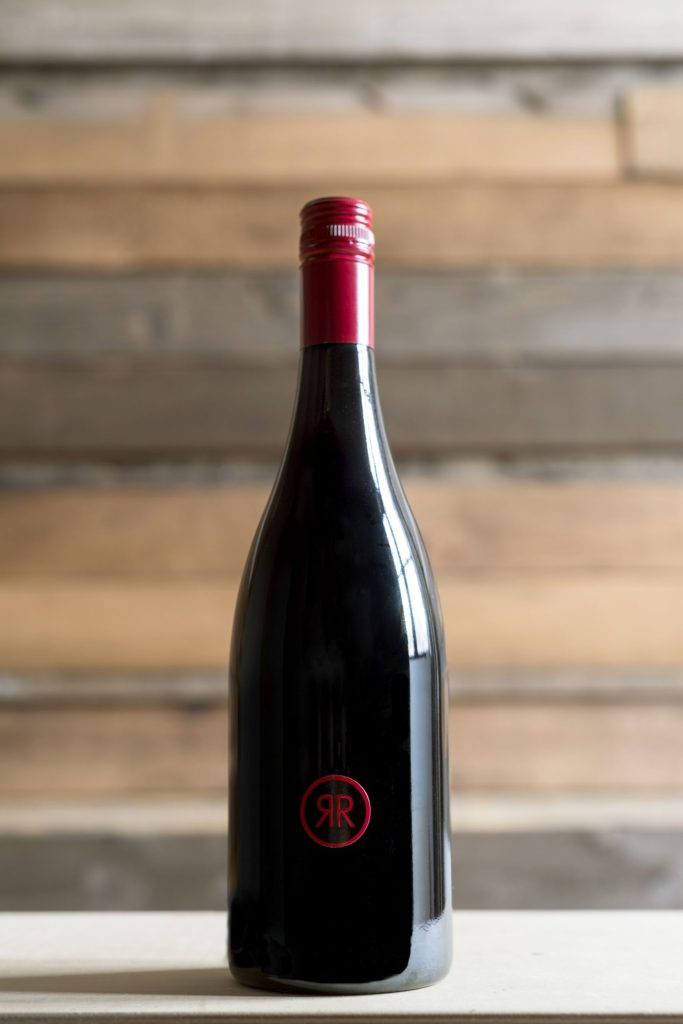 RR Pinot Noir Bottle Shot w/Background