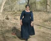 Myself in a simple Civil War era dress