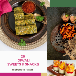 Sweets Snacks For Diwali Ribbons To Pastas