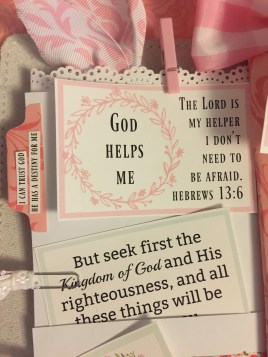 Journal Scripture Cards for your planner