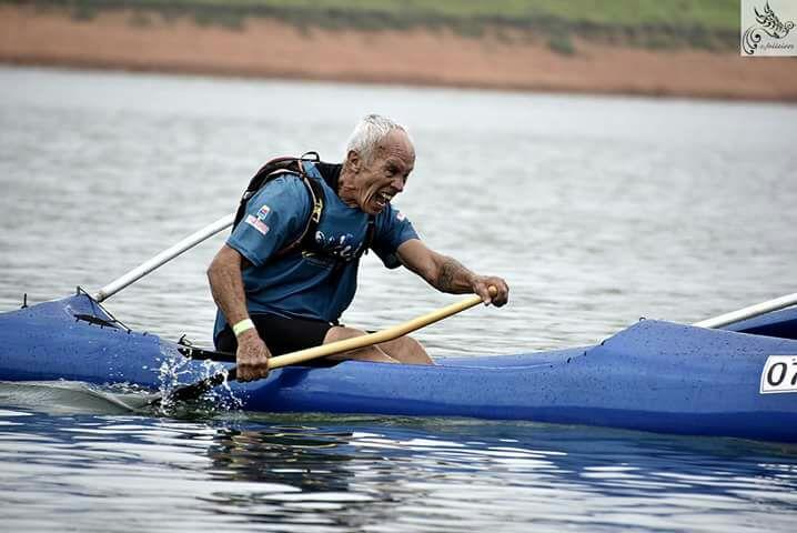Atleta de Ribeirão Pires é campeão da 1ª etapa do Brasileiro de Canoa Havaiana