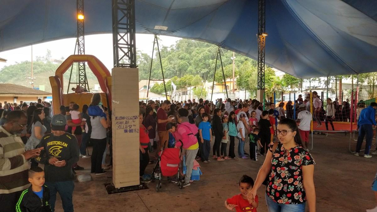 Festa do Dia das Crianças agitou Ribeirão Pires com muito esporte e brincadeiras