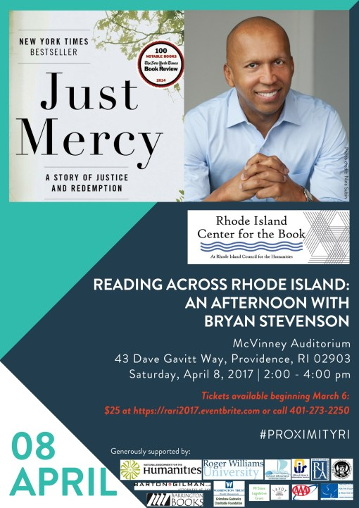 An Afternoon with Bryan Stevenson Poster