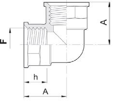 Disegno tecnico RACCORDO 1202055 ARAG