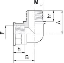 Disegno tecnico RACCORDO 1262022 ARAG