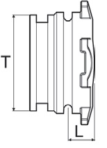 Disegno tecnico TAPPO 219140 ARAG