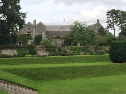 Dartington Hall - Tiltyard in Foreground