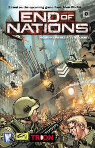 End of Nations 0 Cover by Cully Hamner