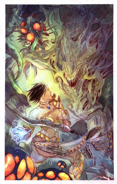 Telara Chronicles 0 Cover by Dustin Nguyen