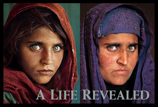 Green-eyed Afghan girl  (2/2)