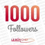 Comment Le bon Chef a dépassé 1000 followers sur instagram ?