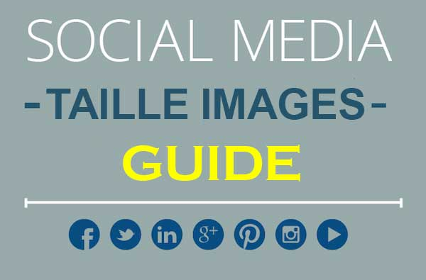 Taille des images sur les réseaux sociaux