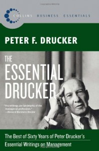 The Essential Drucker de Peter F. Drucker