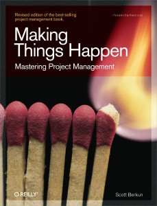 Making Things Happen de Scott Berkun