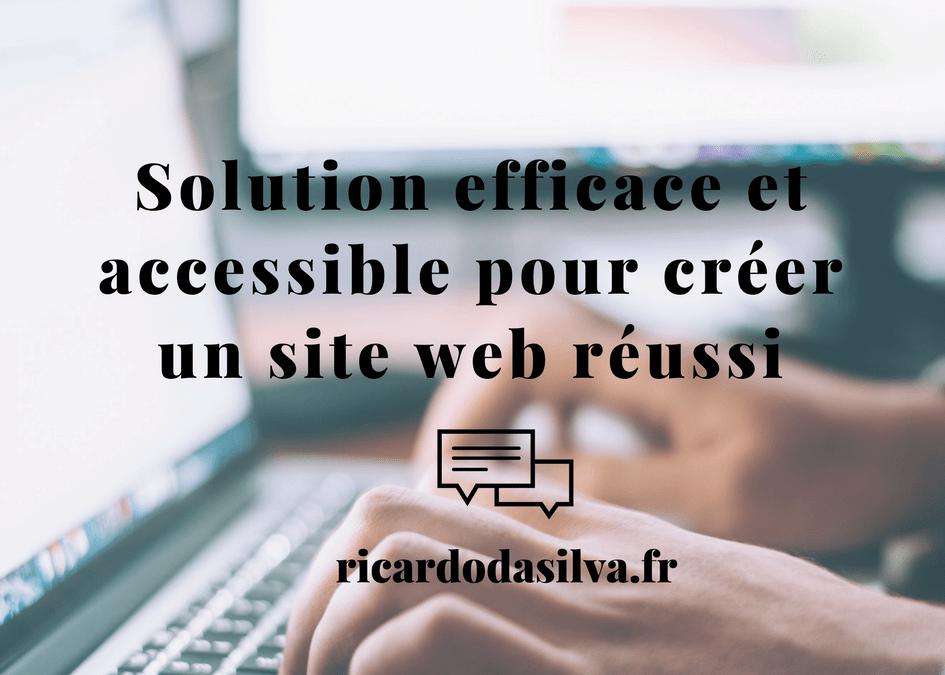 Créer un site web pour une TPE/PME sans être développeur ou webdesigner Solution efficace et accessible pour créer un site web réussi