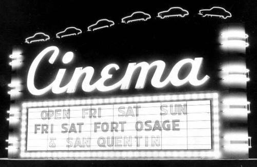 cinema black and white