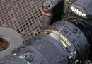 Testando a resistência à água das câmeras profissionais