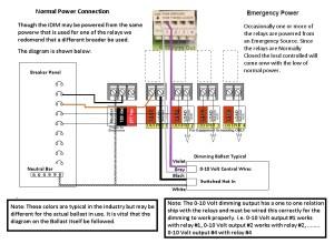 0 10 Volt Dimming Wiring Diagram | Free Wiring Diagram